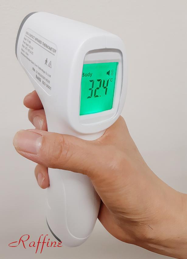 コロナ対策体温測定
